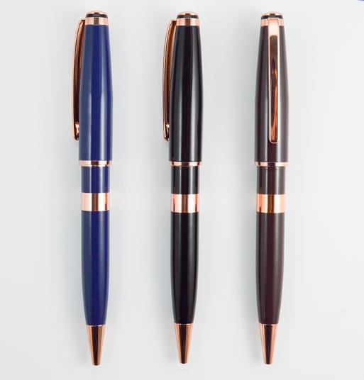 Custom Company Brand Ball Pens All Metal Ballpoint Pen Refills For Cooperate yiwu pen