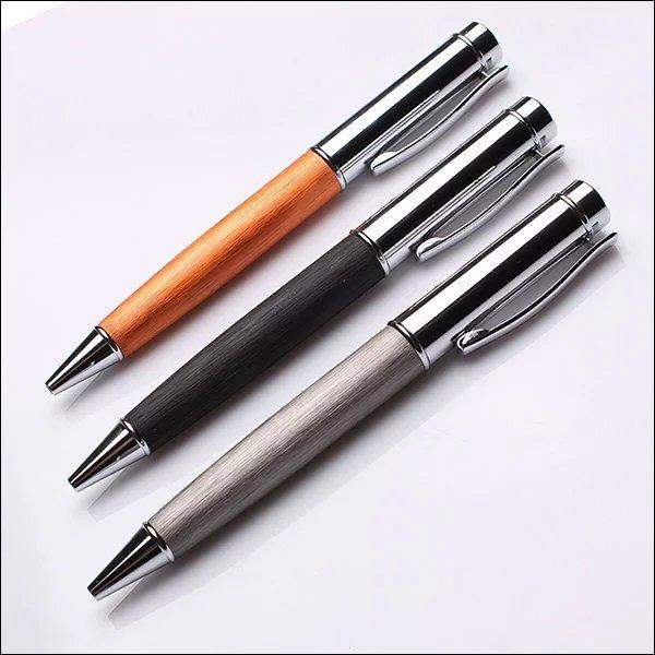 Office School Stationery Refillable Metal Twist Action Hotel Ballpoint Pen For Sale yiwu pen
